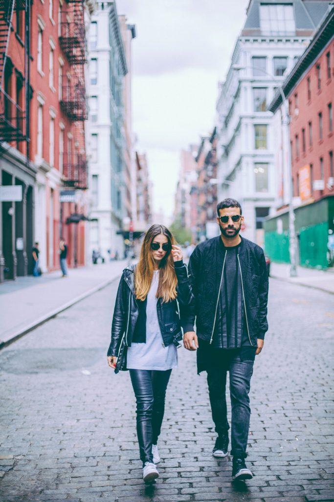 Ays Yuva und Khaled Sufi lassen sich immer wieder von New York inspirieren