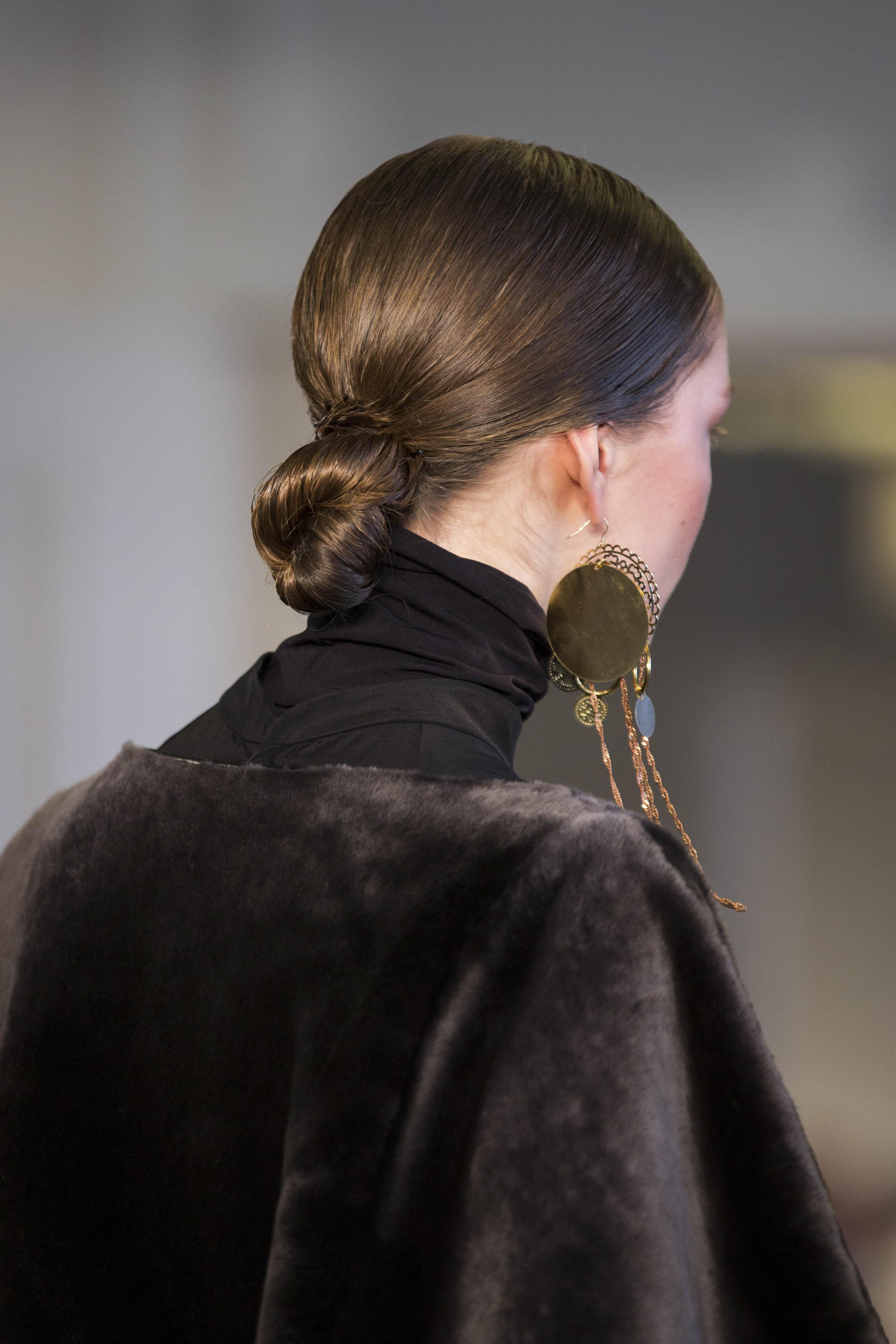 Wella Professionals als Haarpartner für Nobi Talai beim DER BERLINER MODE SALON auf der Berlin Fashion Week am 19.1.2016. Foto: Gero Breloer für WELLA