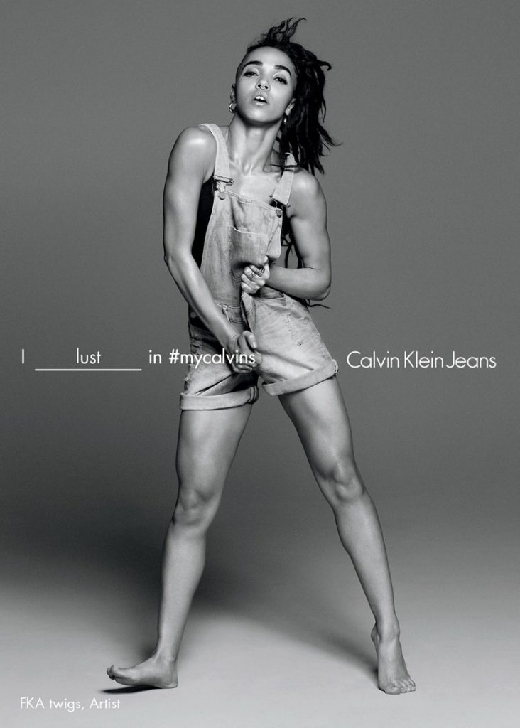 FKA Twigs - Calvin Klein Jeans