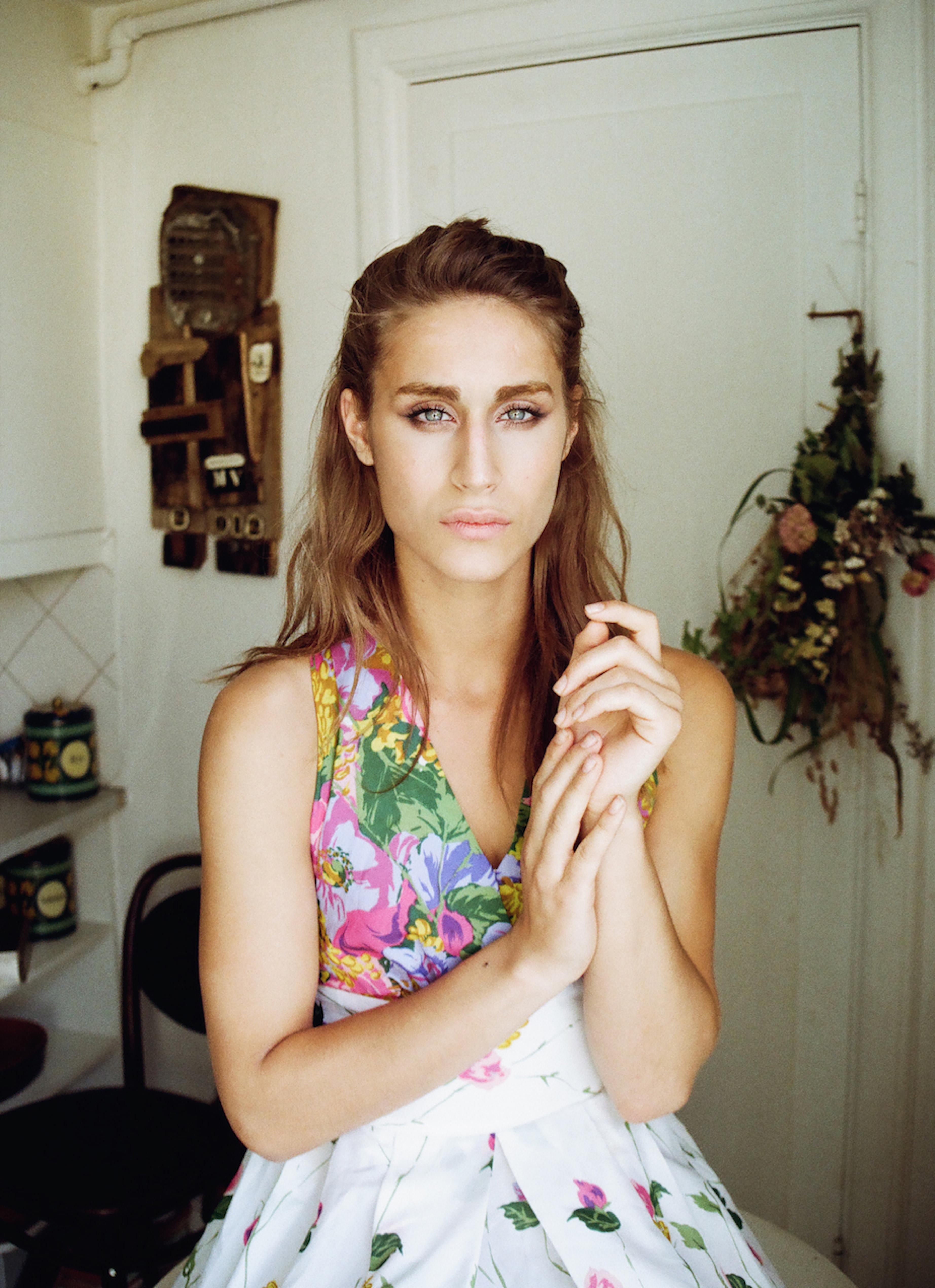 May Lifschitz, 20, Copenhagen, model, make-up artist, art history student, DJ and actor