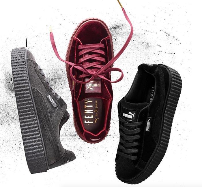 Rihanna_Fenty_Puma_Creepers_velvet_sneakers