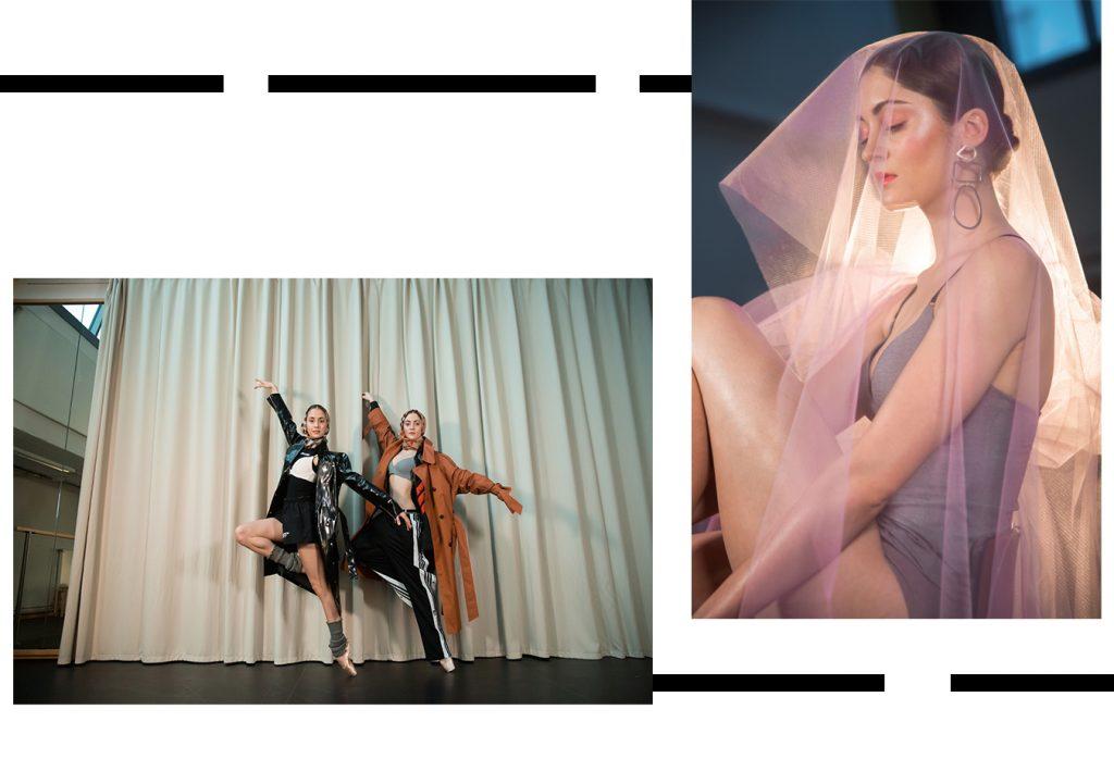 Sloggi Streetstyle Ballett Taenzerinnen Stattsballett Berlin Buehne Schleier Body Trainingshosen Ugly Fashion BH Mantel