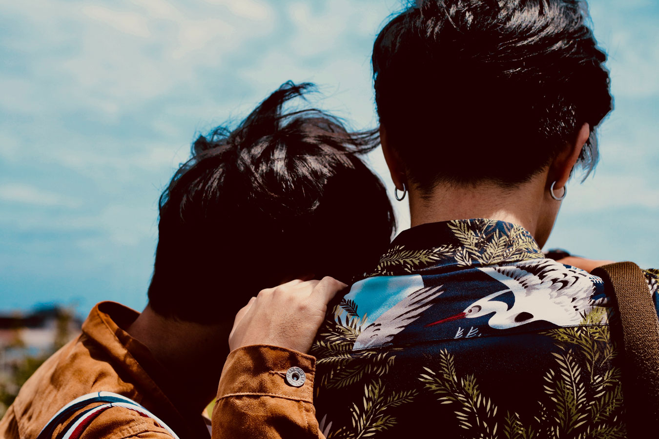 beziehungsunfähig paar millenials generation z gay love schwul zwei männer