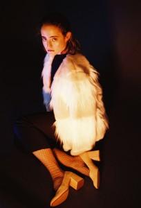 Longshirt: Stine Goya/ Jumpsuit: Topshop Unique/ Jacke & Schuhe: ZARA