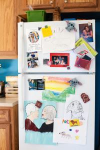 Kühlschränke zu bekleben ist ein globales Phänomen